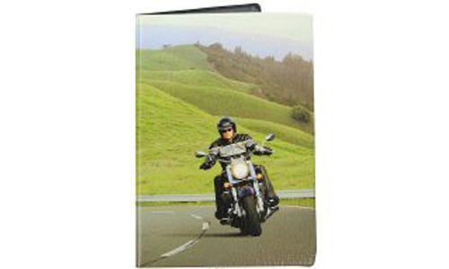 """Обложка для паспорта """"Мотоциклист"""""""