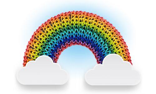 """Набор для плетения """"Rainbow Loom"""""""