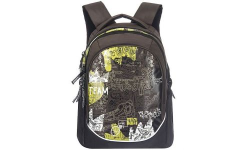 Рюкзак Grizzly RU-528-1 (темно-коричневый)