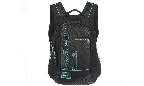 Рюкзак Grizzly RU-505-1 (бирюзовый)