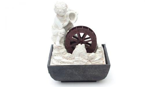 Настольный фонтан Мальчик с кувшином