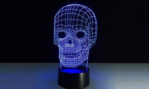 Настольная 3D-лампа \