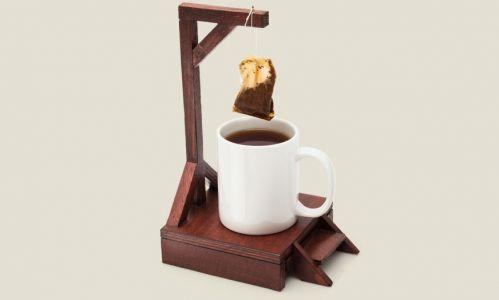 Виселица для чайных пакетиков (ручная работа)