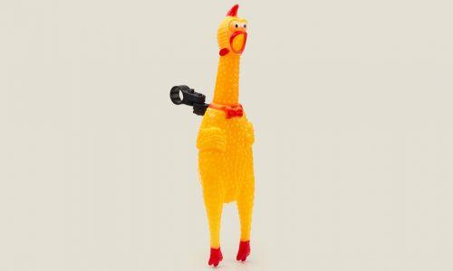 Велозвонок Курица