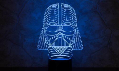 """""""Дарт Вейдер"""" 3D-светильник от 1 390 руб"""