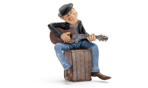"""Фигурка """"Гитарист"""", полистоун от 1 150 руб"""