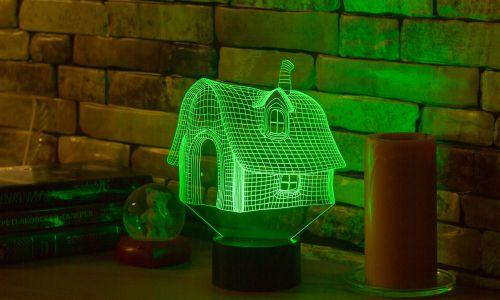 """3D-светильник """"Домик"""" от 1 390 руб"""